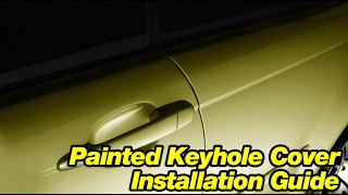 Bimmian.com - Painted Keyhole Cover Install Guide for BMW