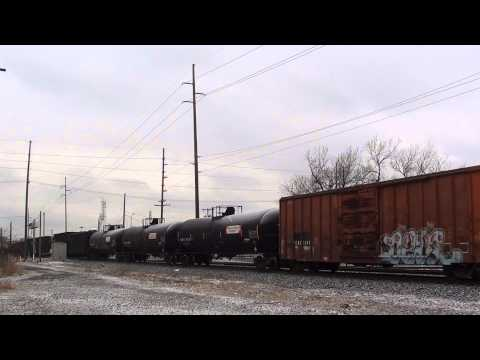 EPIC Standard Cab Trio Leads CSX Y123 East Cal Tower East Chicago, IN