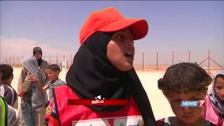 Football turns big relief for refugees in Jordan   Sports   News7 Tamil  