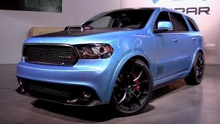 Dodge Durango Shaker Concept - Start Up, Exhaust & First Look Review