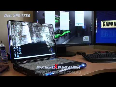Dell XPS 1730 Maxishine Video