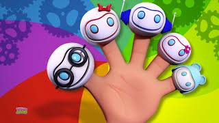 Robots Finger Family | Nursery Rhymes | Baby Songs | Kids Rhyme