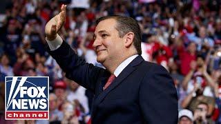Senator Ted Cruz gives victory speech in Texas