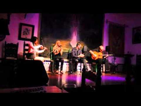 Josele de la rosa. Extracto Tangos de Farruca con violin. En Peña la plateria.