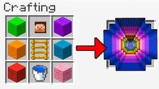 Minecraft ITA - COME CREARE UN DROPPER CON LA CRAFTING TABLE!!