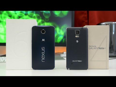 Google Nexus 6 vs Samsung Galaxy Note 4 - Full Comparison!