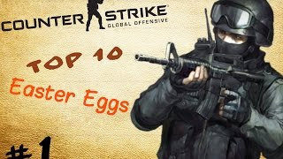 Cs:Go Top 10 Süpriz Yumurtalar (Easter Eggs) #1