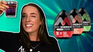 Irish People Try MiO Energy Shots