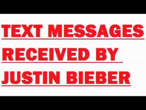 Text Messages Received By Justin Bieber. Funniest Comment Wins A Bieber Voodoo Doll. Comedy humour video