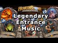 Hearthstone - Legendary Entrance Music (Classic to Old Gods)