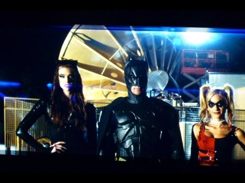 BAT ROMANCE [Batman Original MUSIC VIDEO] Dark Knight Rises Lady Gaga Bad Romance Parody