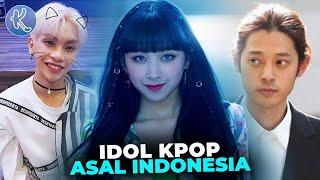Bikin Bangga! Inilah Deretan Idol Kpop yang Lahir dan Berasal dari Indonesia