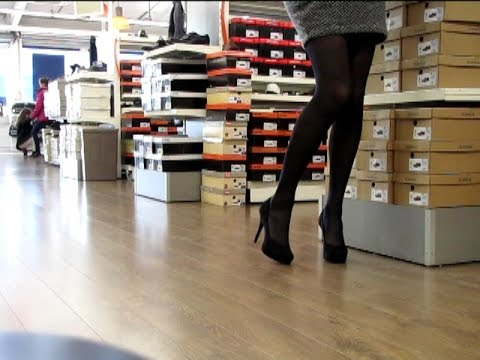 Shopping Outfits &amp  High Heels  2     Transvestite   Crossdresser