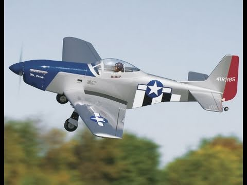 Great Planes P51 Mustang Review and Flight