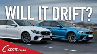 Will It Drift? BMW M5 vs Mercedes E63S