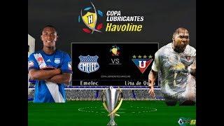 Emelec Vs Liga de Quito | Final | Ida | Simulación Del Partido | Pes 6 Ecuador
