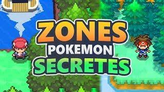 7 ZONES SECRÈTES ET INCROYABLES DANS POKEMON !