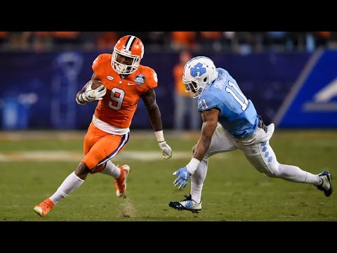 Clemson's Wayne Gallman On Oklahoma's Defense | Orange Bowl Media Day
