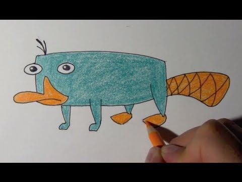 comment dessiner phineas