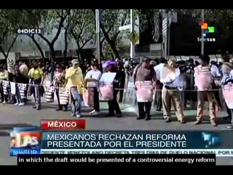 Mexico: energy reform debate is postponed to Sunday