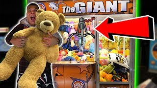 WON THE MEGA JACKPOT!! 99% WIN RATE HACK ANY ARCADE CLAW GAME