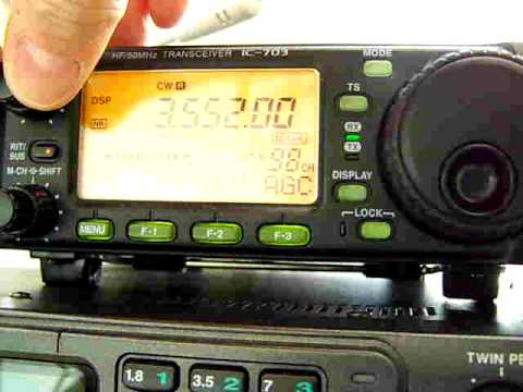 Icom IC-703 Close-up