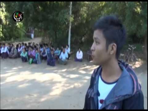 DVB - ပုဂံတြင္ ဟုိတယ္ ၀န္ထမ္းမ်ား ဆႏၵျပ