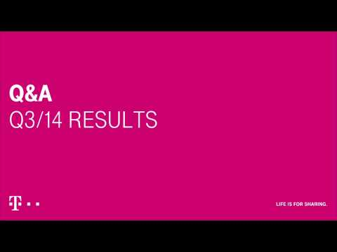 Deutsche Telekom's Q3-2014 investor conference call.