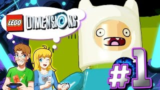 Lego Dimensions: Adventure Time Level Pack PART 1 A Book and a Bad Guy