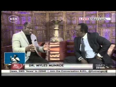 Dr.  Myles Munroe's Advices To Kenyans On Leadership video
