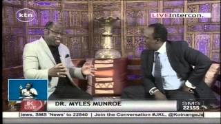 Dr.  Myles Munroe's advices to Kenyans on leadership