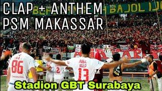 Download Lagu Seluruh Bonek DIAM.! Menghormati anthem PSM Makassar Usai Pertandingan di Stadion GBT Surabaya Gratis STAFABAND