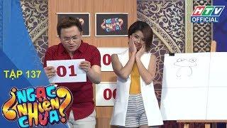 HTV NGẠC NHIÊN CHƯA | Trai xinh gái đẹp Lưu Quang Anh - Đàm Phương Linh | NNC #137 FULL | 30/5/2018