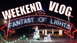 Weekend Vlog - Trip to Berkeley, Fantasy of Lights