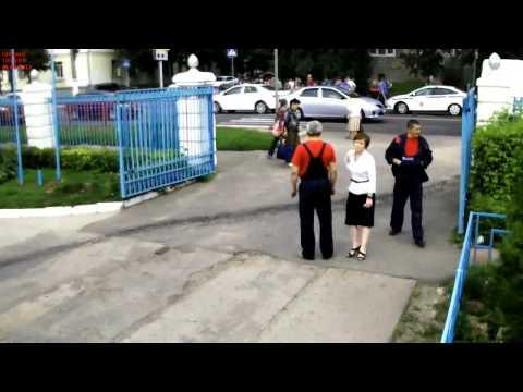 авария с велосипидистом в Твери видео ТИА