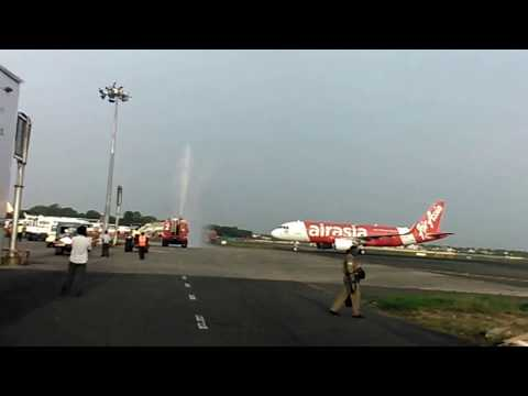 AirAsia enter into Chennai/ During first operating