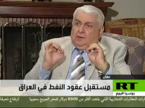 Issam Al-Chalabi warns on Iraqi oil contracts (in Arabic)