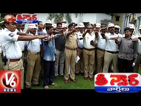Malakpet Traffic Police Take Pledge Over Violation Of Traffic Rules | Teenmaar News | V6 News