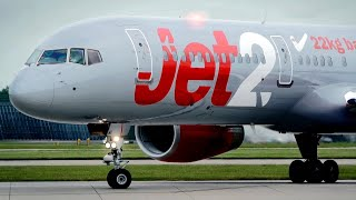 Download Lagu Close Lineup! Jet2 Boeing 757-200 [G-LSAI] Take off from Manchester Airport Gratis STAFABAND