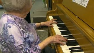 Magic Of Music 102 Year Old S Memory Triggered By Piano