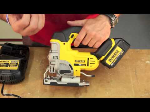 DEWALT DCS331L1 - 20 Volt MAX Lithium-Ion Jigsaw Review