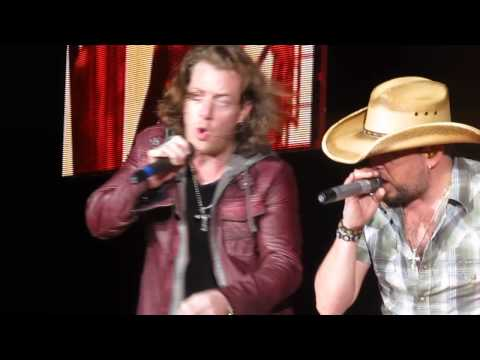 The Only Way I Know - Jason Aldean with FGL - Orange Beach, AL 3/15/14