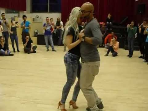 Kizomba Albir & Sara. Vanda May - Nao Me Taraxxa. video