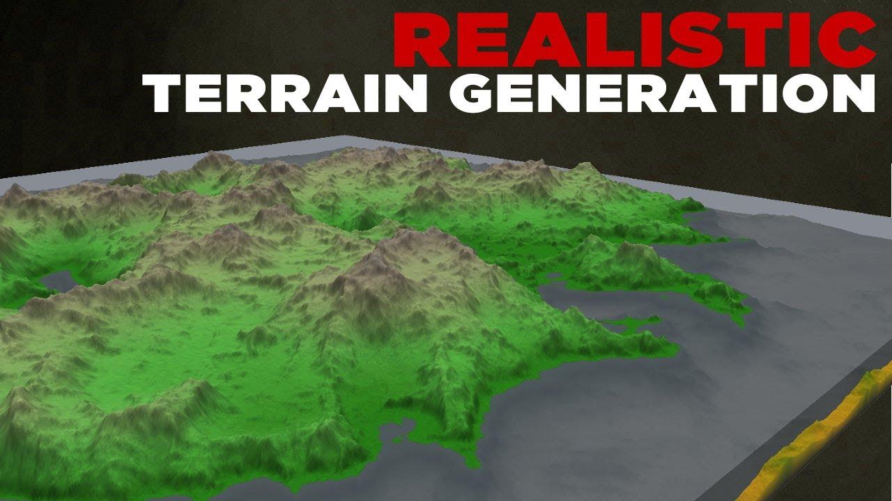 Ultra Realistic Terrain Generation In Minecraft YouTube