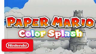 Paper Mario: Color Splash Trailer – The Adventure Unfolds