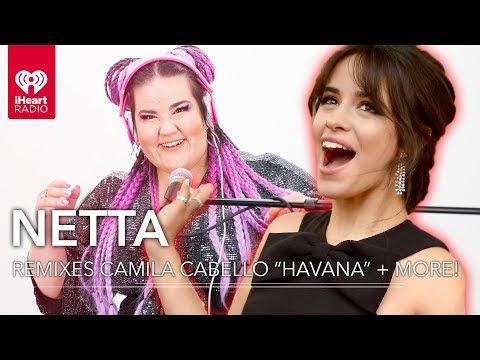 Camila Cabello Havana + More Remixed By Netta!   iHeartRadio Party Wheel