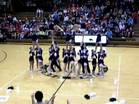 Pine View High School Cheerleaders Competition Routine 2012