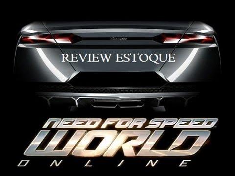 NEED FOR SPEED WORLD REVIEWS DOS CARROS - LAMBORGHINI ESTOQUE