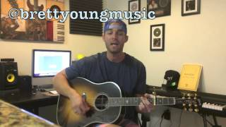 """Download Lagu Blake Shelton- """"Mine Would Be You"""" (Cover by Brett Young) Gratis STAFABAND"""