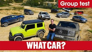 Best 4x4s 2019 – What's the best off-roader you can buy? Jeep, Jimny, G-Wagen, \u0026 more | What Car?